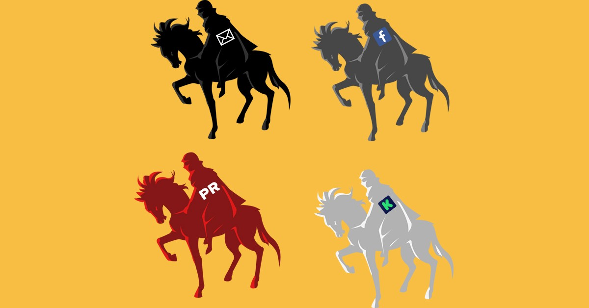 The Four Horsemen of Traffic (to your crowdfunding campaign)