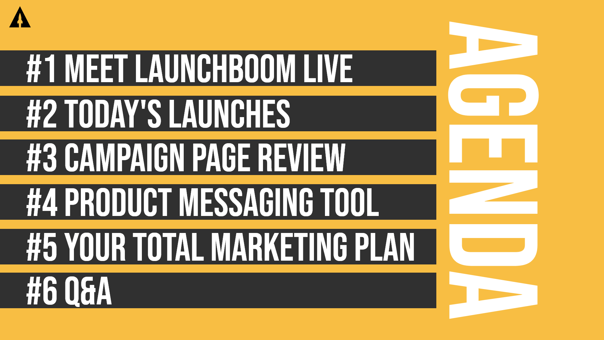 LaunchBoom Live Recap: Campaign page pointers, product messaging, and email lists