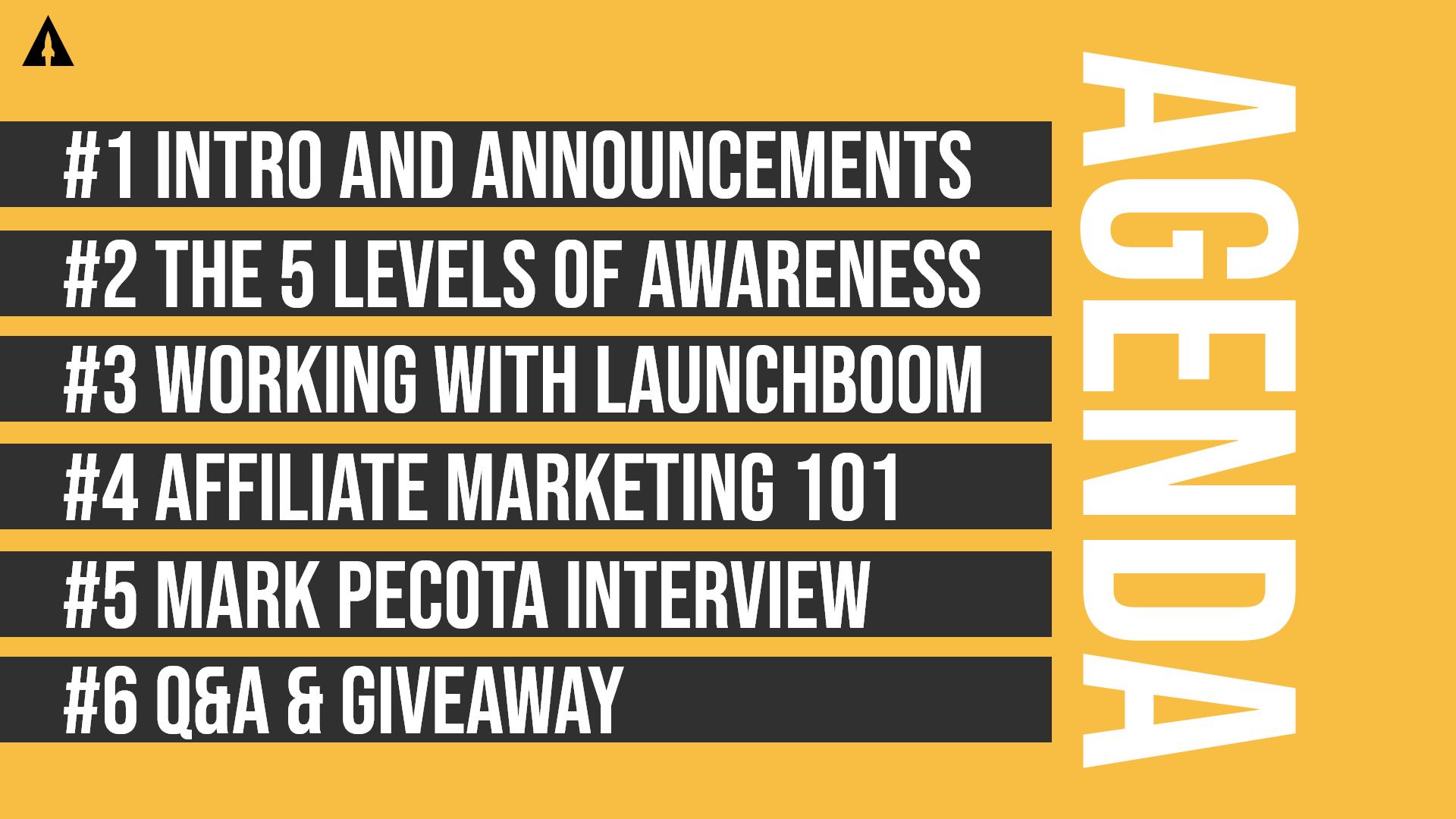 LaunchBoom Live Recap: Customer awareness, affiliate marketing, and an interview