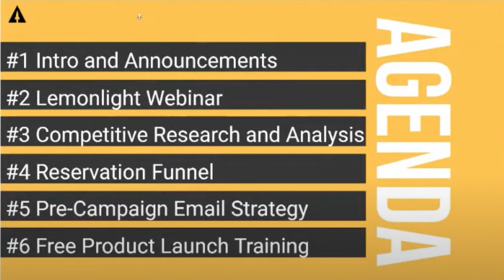 LaunchBoom Live Recap: Research your competition, reservation funnels, and pre-campaign email strategy